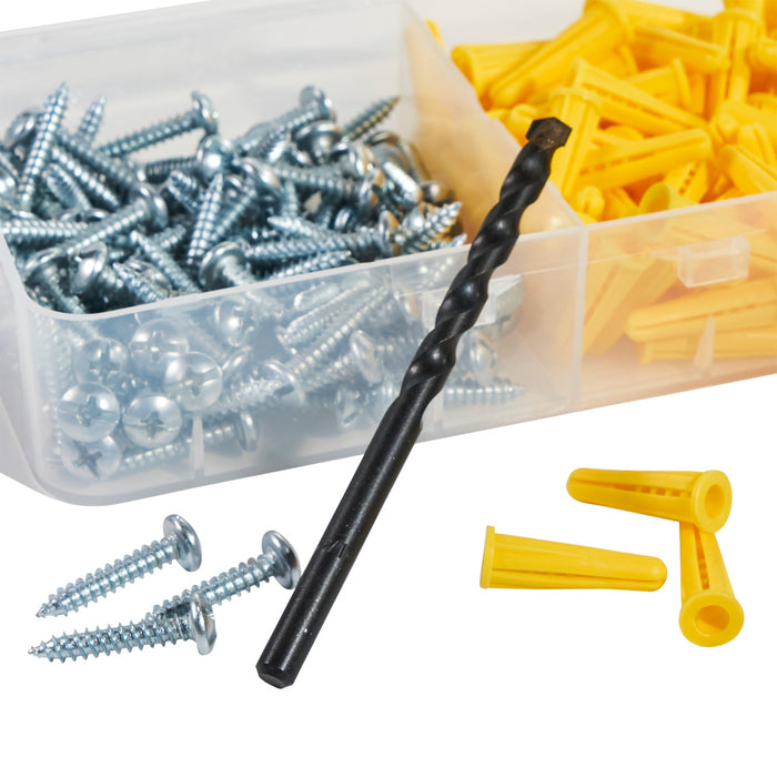 Klein Tools 53729 Conical Anchor Kit, 100 Anchors