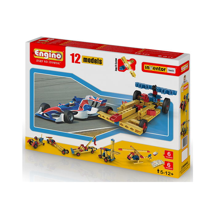 Engino ENG-1220 12 Model Construction Set