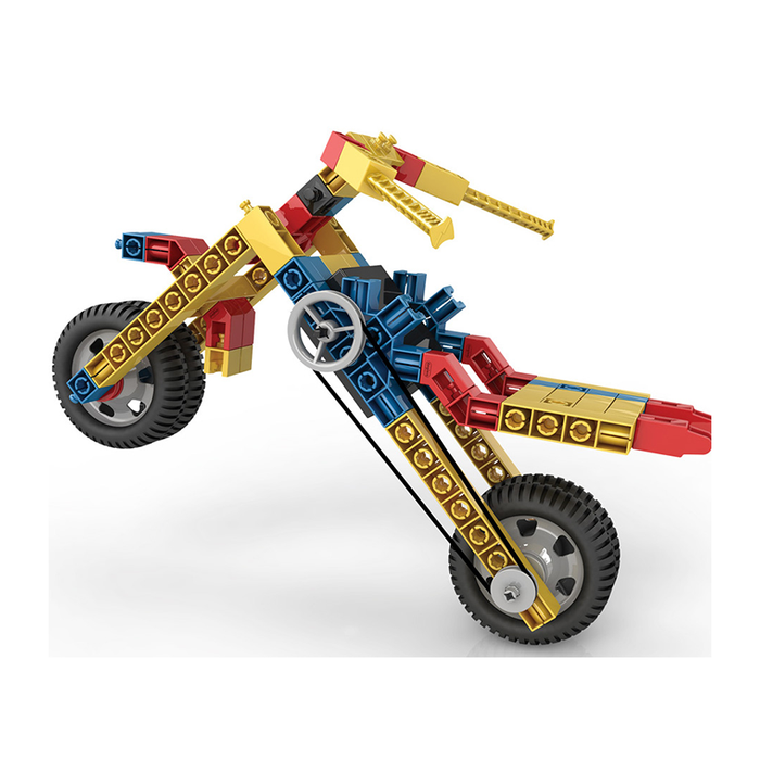 Engino ENG-2520 25 Model Construction Set with Motor Construction Kit