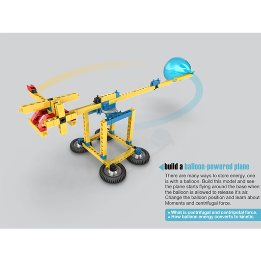 Engino ENG-M11 Mechanical Science Kit - Forces, Energy, Motion Construction Kit