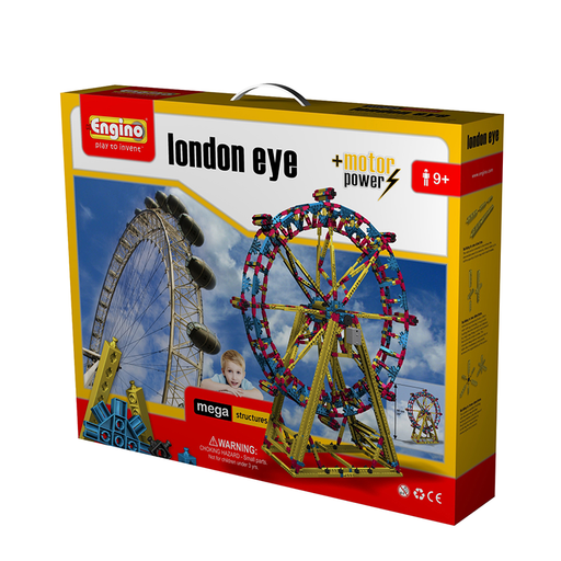 Engino ENG-MS3 London Eye Construction Set