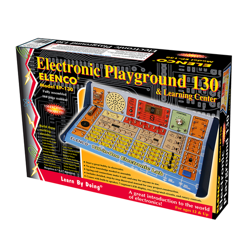Elenco EP-130 130-in-1 Electronic Playground and Learning Cente
