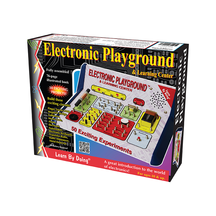 Elenco EP-50 50-In-One Electronic Playground Kit