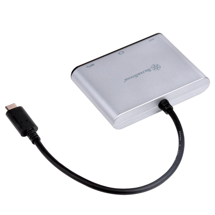 SilverStone EP06C USB 3.1 Type-C to USB Type-A , Type-C x 1 and VGA Connector Adapter