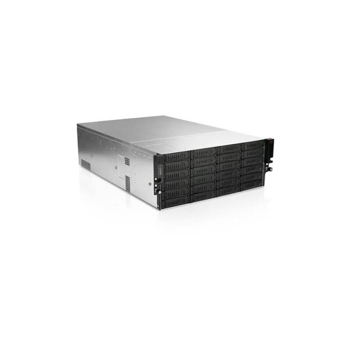 iStarUSA EX4M24-750PD8G 4U 24-Bay Storage Server Rackmount Chassis with 750W Redundant Power Supply