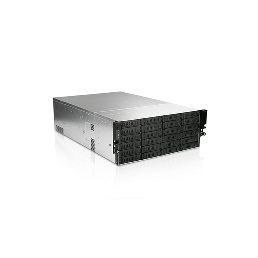 iStarUSA EX4M36EXP-80S2UP8 4U 36-Bay Storage Server Rackmount Chassis with SAS Expander 800W Redundant Power Supply