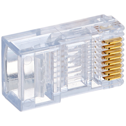 Platinum Tools 100003B EZ-RJ45 Cat5e Connector, 100-Pack