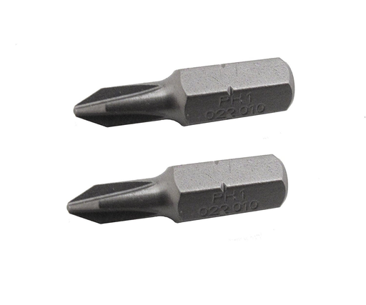 "Felo 0715710271 PH 2 x 1"" Phillips Industrial Bits, 2 Pack"