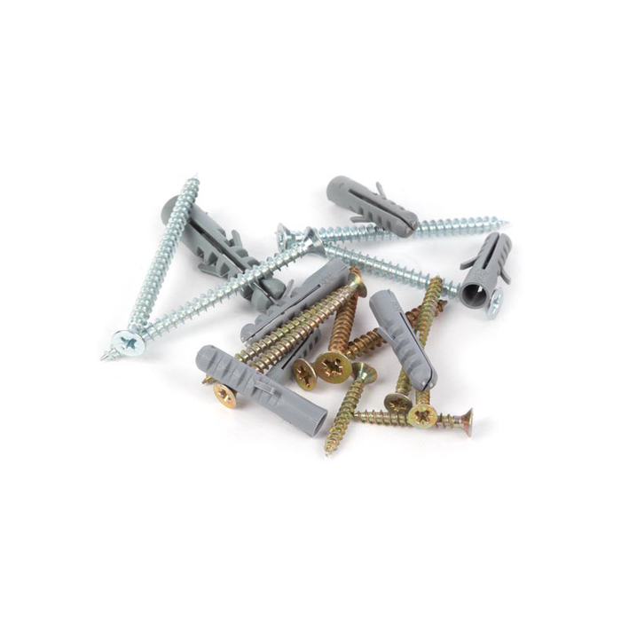 Toolland HAS10: 193 Piece Assorted Anchor & Chipboard Screw Set