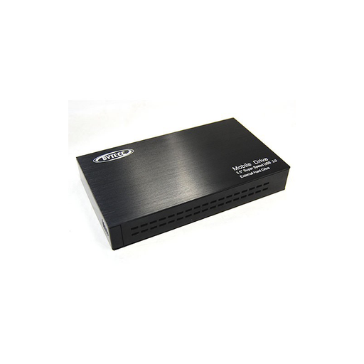 "Bytecc HD-35SU3-BK USB 3.0 Aluminum Easy-Open External Enclosure for 3.5"" SATA Hard Drive"