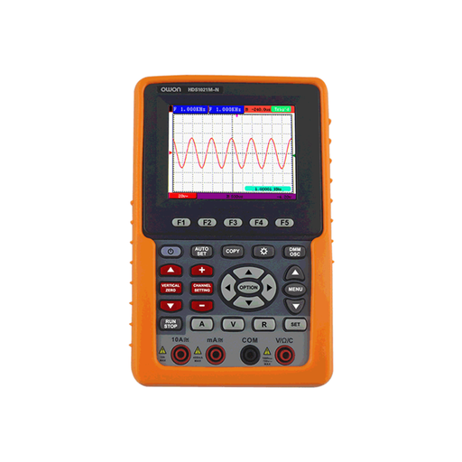 Owon HDS1021M-N 1-Channel HDS Handheld Digital Storage Oscilloscope and Digital Multimeter (20 MHz)