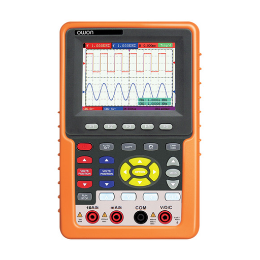 Owon HDS4202M-N 2-Channel Handheld Digital Storage Oscilloscope (200 MHz)