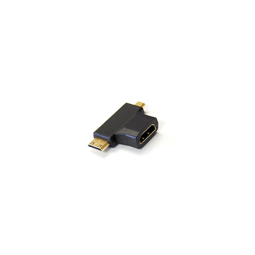 Bytec HMACD-FM HDMI® A Female to HDMI® C Male and HDMI® D Male Adapter