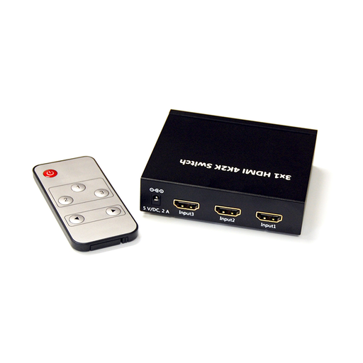 Bytecc HMSW301SMK  3x1 HDMI® 4K2K Switch