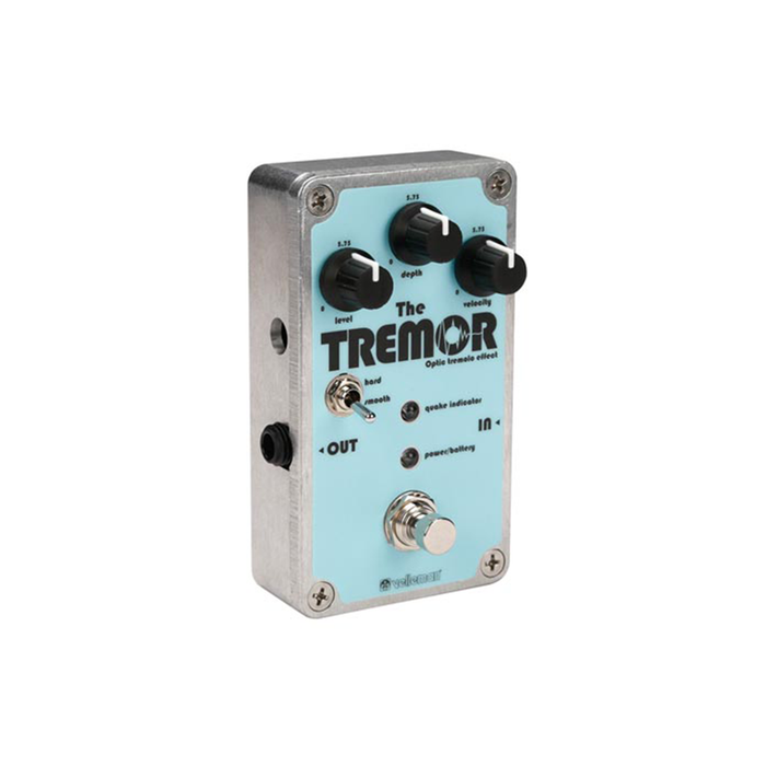 Velleman K8110 The Tremor - Optical Tremolo Effect Pedal Kit