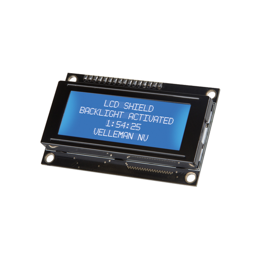 Velleman KA06: LCD Shield for Ardunio Kit