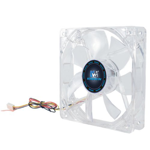 Kingwin CFBL-012LB 120mm x 120mm Long Life Bearing LED Case Fan