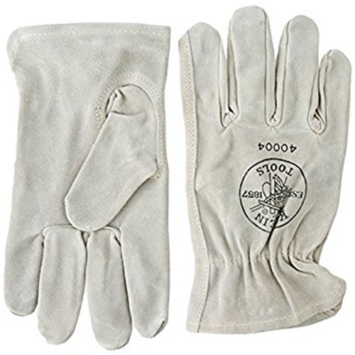 Klein Tools 40004 Cowhide Driver's Glove, Medium
