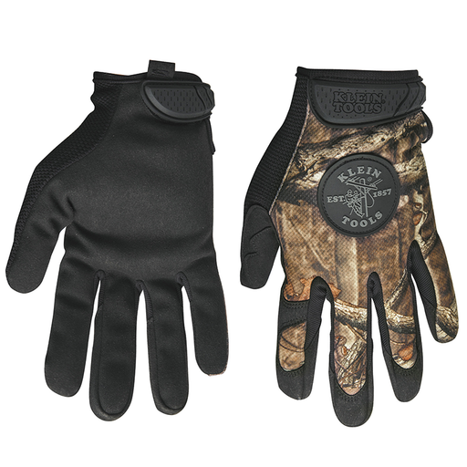 Klein Tools 40209 Journeyman Camouflage Gloves, Large
