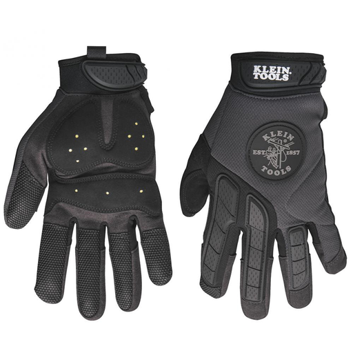 Klein Tools 40214 Journeyman Grip Gloves, Medium