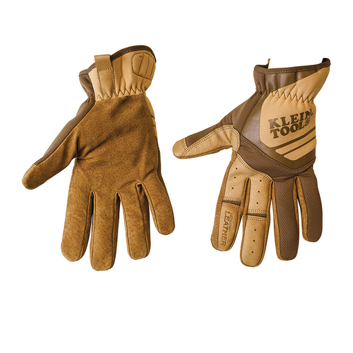 Klein Tools 40228 Journeyman Leather Utility Gloves, X-Large