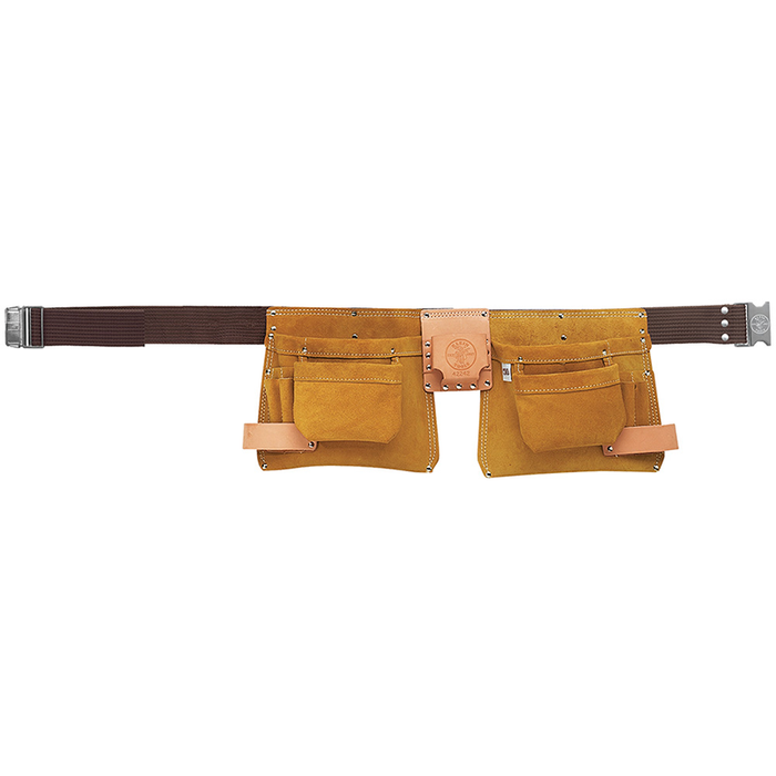 Klein Tools 42242 One-Piece Nail/Screw and Tool Pouch Apron Tan