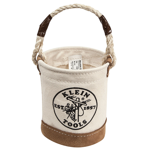 Klein Tools 5104MINI Mini Leather Bottom Bucket