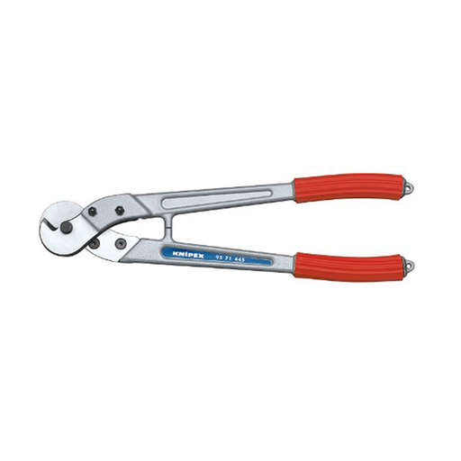 "Knipex 95 71 445 17.5"" Wire Rope and ACSR-Cable Cutters"