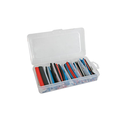 Velleman K/stmc2 170 Piece 100mm Polyolefin Heat Shrink Tubing Kit