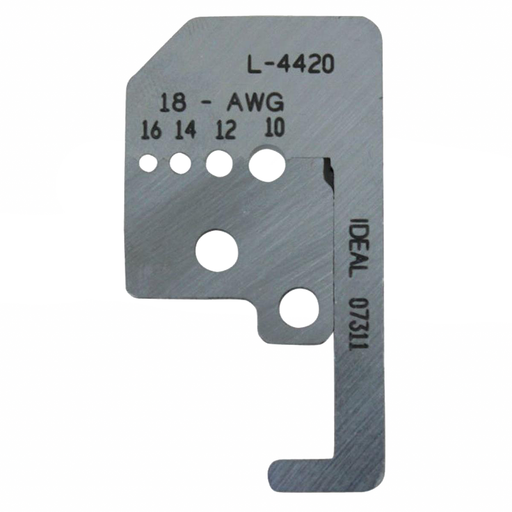 Ideal L-4420 Replacement Blades for 45-091, 10-18 AWG