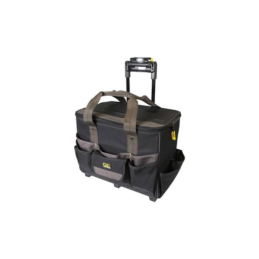 "CLC L258 Tech Gear™ Lighted Handle 17"" Roller Bag"