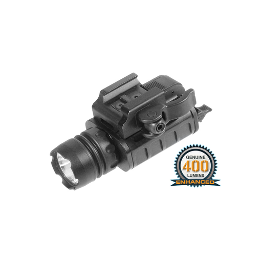 UTG LT-ELP223Q-A UTG 400 Lumen Compact LED Weapon Light with QD Lever Lock