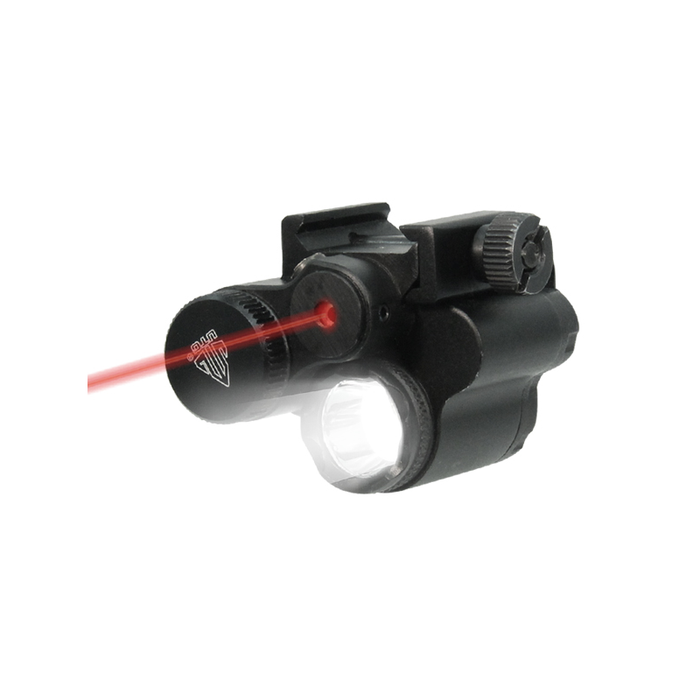 UTG LT-ELP28R UTG Sub-compact LED Light and Aiming Adjustable Red Laser