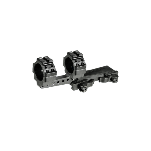 UTG M3S40070R2 Integral 30mm Offset QD Mount, 2 Top Slots, 100mm Base