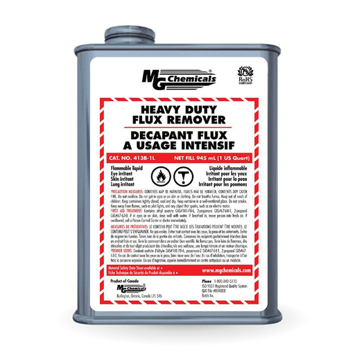Mg Chemicals 413B-1L Heavy Duty Flux Remover Liquid