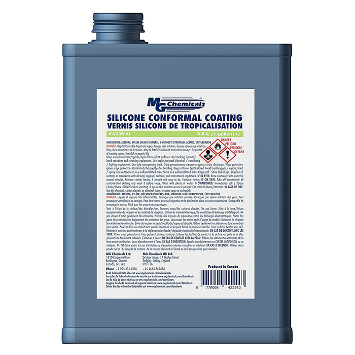 Mg Chemicals 422B-4L Silicone Conformal Coating