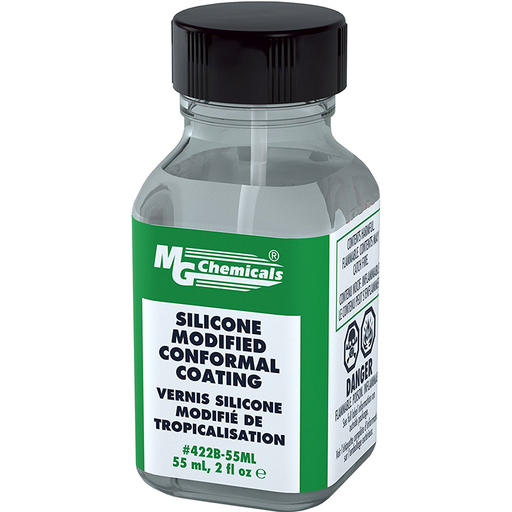 Mg Chemicals 422B-55ML Silicone Modified Conformal Coating