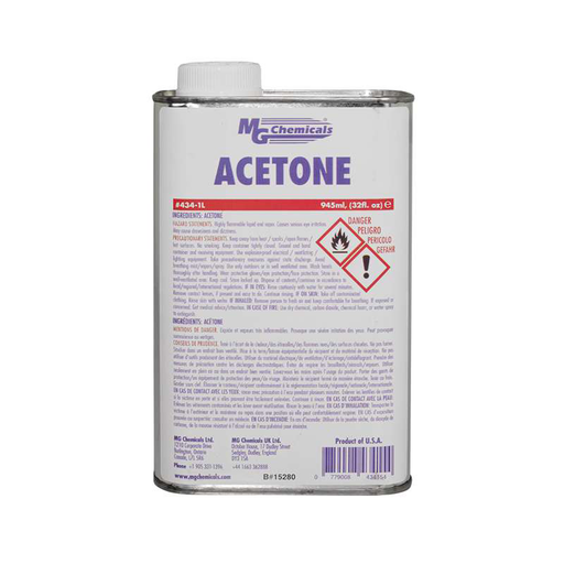 Mg Chemicals 434-1L Fast Drying Acetone