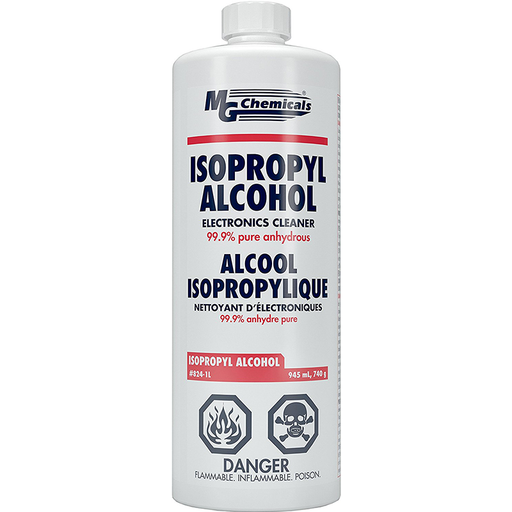 Mg Chemicals 824-1L 99.9% Isopropyl Alcohol Liquid Cleaner