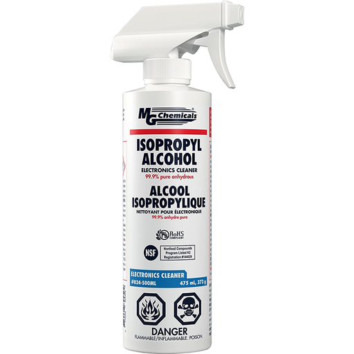 Mg Chemicals 824-500ML 99.9% Pure Isopropyl Alcohol
