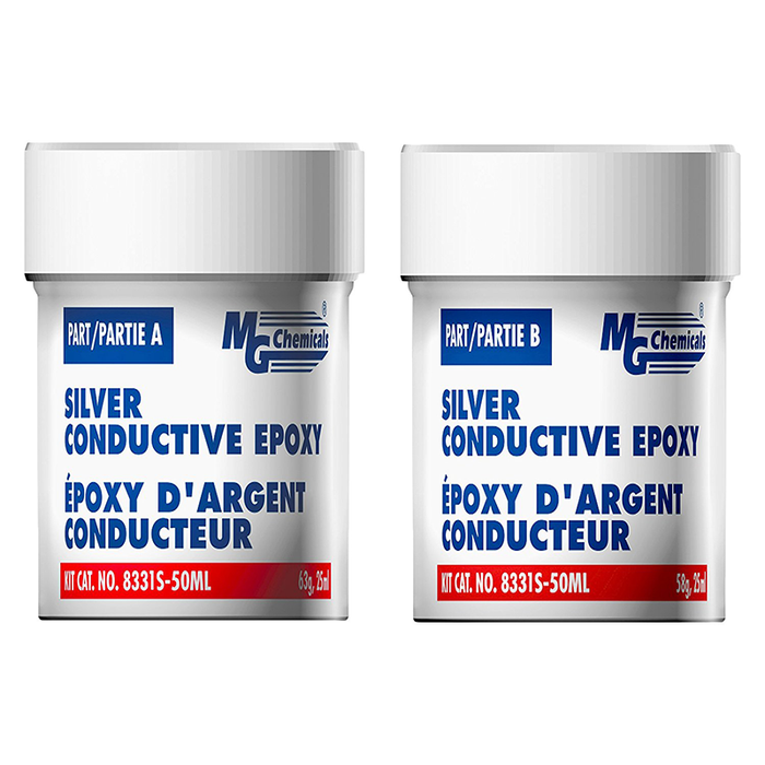 Mg Chemicals 8331S-50ML High Conductivity Silver Epoxy Adhesive