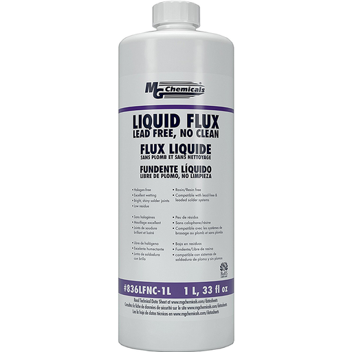 Mg Chemicals 836LFNC-1L Lead Free No Clean Flux