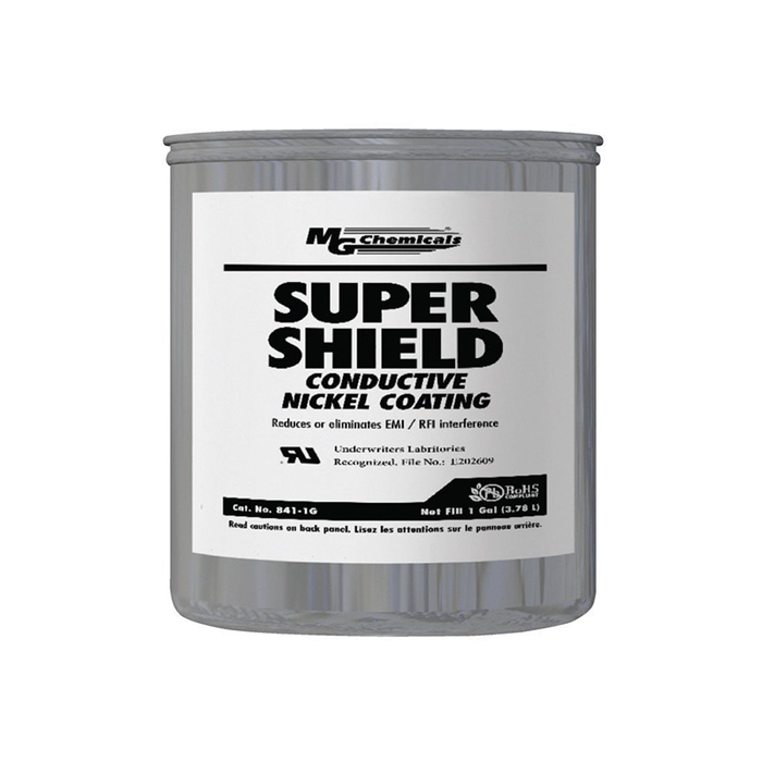 Mg Chemicals 841-1G Super Shield Nickel Conductive Coating, 1 Gal