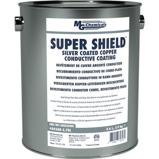 Mg Chemicals 843AR-3.78L Super Shield Silver Coated Copper Conductive Coating