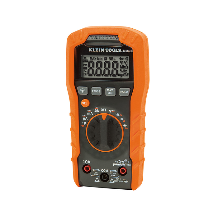 Klein Tools MM5000N Electrician's TRMS Multimeter with NIST Certification
