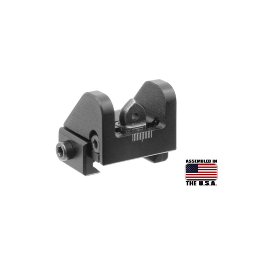 UTG MNT-910 Sub-compact Rear Sight for Shotguns, .22 Rifles