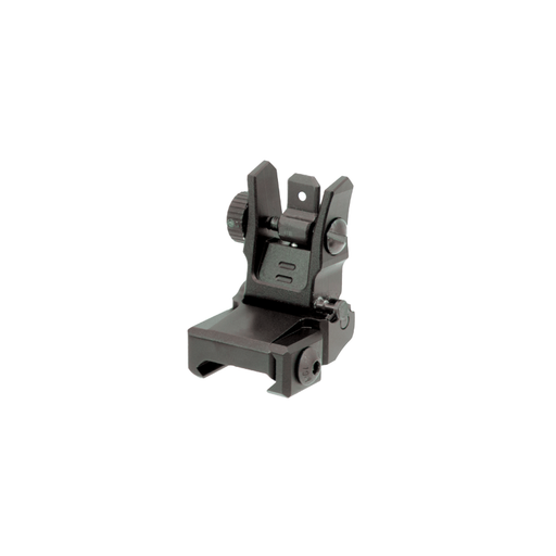 UTG MNT-955 Low Profile Flip-up Rear Sight with Dual Aiming Aperture