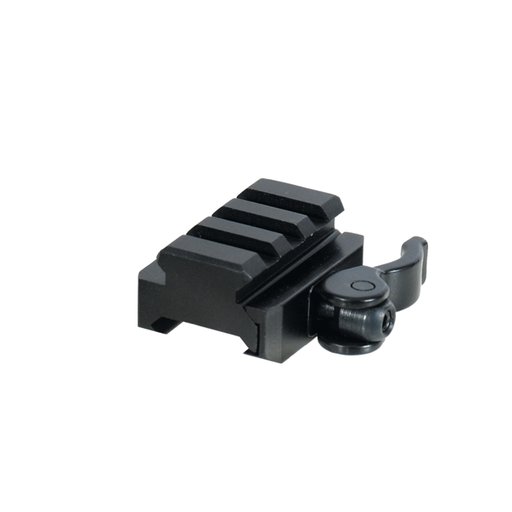UTG MNT-RSQD403 3-Slot QD Lever Mount Adaptor and Riser, Medium Profile