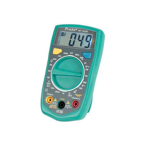 Eclipse MT-1233D 3-1/2 Digital Multimeter