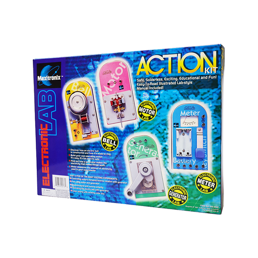 Elenco MX902 4-in-1 Action Kit Lab